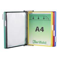 Демосистема настенная А4 10 панелей в ассортименте Tarifold
