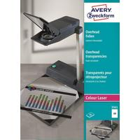 Пленка для проекторов Avery Zweckform AZ3561 прозрачная А4 (50 листов, артикул производителя AZ3561)