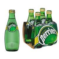 Вода минеральная Perrier газированная 0.33 л (4 штуки в упаковке)