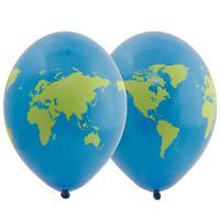 Набор шаров Земной шар 36 см (25 штук в упаковке)