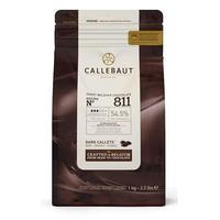 Шоколад темный Callebaut в форме таблеток 1 кг