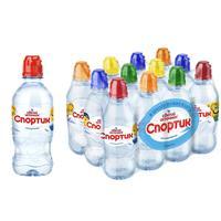 Вода питьевая Святой Источник Спортик негазированная для детей 0.33 л (12 штук в упаковке)