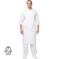 Халат для пищевого производства у17-ХЛ белый (размер 44-46 рост 182-188)