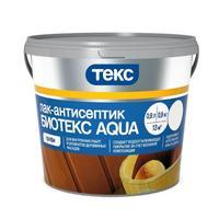 Лак панельный Текс Биотекс Aqua Профи орех матовый 0,9 л