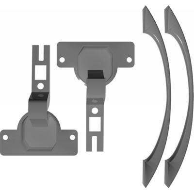 Фурнитура для стеклянных дверей Эталон/Модерн (2 штуки, тонированная)