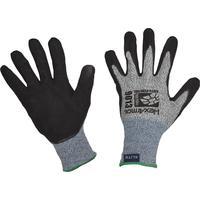 Перчатки рабочие трикотажные от порезов и проколов HexArmor 9000 Series с нитриловым текстурным покрытием 9013 (размер 9, L)