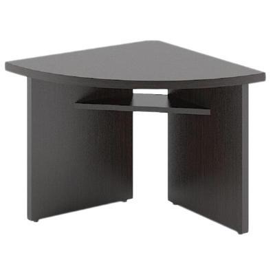 Стол для переговоров Born угловой элемент правый (венге магия, 840х840х750 мм)
