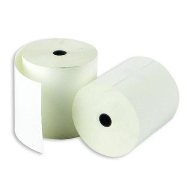 Чековая лента из термобумаги 80 мм (диаметр 72-74 мм, намотка 80 м, втулка 12 мм, 45 штук в упаковке)