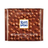 Шоколад Ritter Sport молочный с цельным лесным орехом 100 г