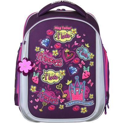 Рюкзак школьный Magtaller Unni Princess фиолетовый