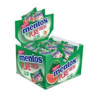 Жевательная резинка Mentos Pure Fruit Арбуз (100 штук в упаковке)