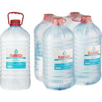 Вода питьевая Главвода негазированная 5 литров (4 штуки в упаковке)