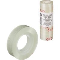 Клейкая лента канцелярская прозрачная 12 мм х 33 м (12 штук в упаковке)