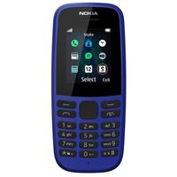 Мобильный телефон Nokia 105 SS синий (16KIGL01A13)