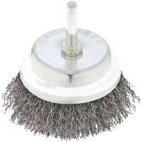 Щетка для дрели Сибртех 75 мм чашечная витая проволока 0.3 мм (744787)