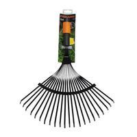 Грабли веерные проволочные Fiskars QuikFit 1000644 металл 43 см (без черенка)