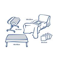 Комплект одноразового белья Hartmann Foliodrape Protect Plus II для  лапарос стерильный (5 предметов)