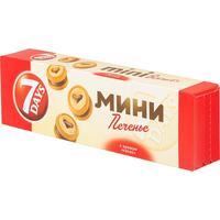 Печенье сдобное 7 days mini biscuits с кремом какао 100 г