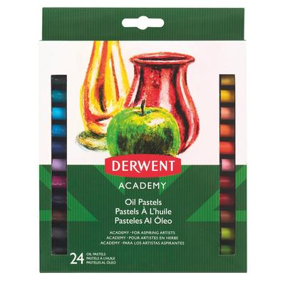 Пастель масляная Derwent Academy 24 цвета