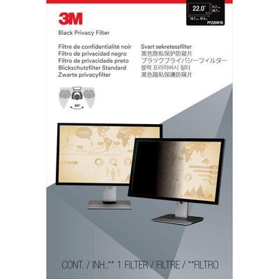 Экран защиты информации 3M для устройств 22.0 черный (PF220W1B)