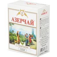 Чай Азерчай Букет черный с чабрецом 100 г