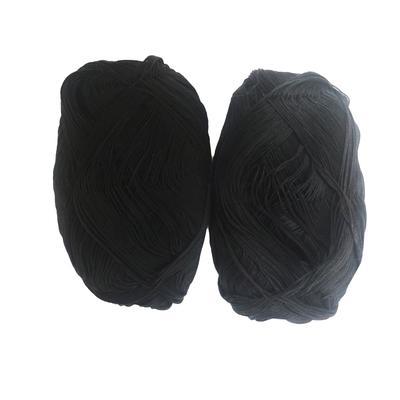 Нить для переплета Attache хлопчатобумажная черная (1.4 мм, 2 мотка в упаковке)