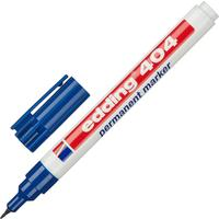 Маркер перманентный Edding E-404/3 синий (толщина линии 0,75 мм) круглый наконечник