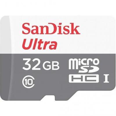 Карта памяти 32 ГБ microSDHC SanDisk SDSQUNS-032G-GN3MA Class 10