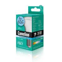 Лампа светодиодная Camelion 6 Вт Е14 рефлектор 4500 К холодный белый свет