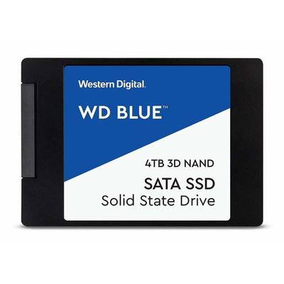 SSD накопитель Western Digital Blue 4 ТБ (WDS400T2B0A)