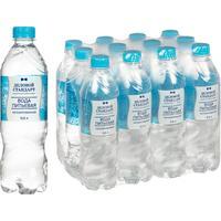 Вода питьевая Деловой стандарт 0.5 негазированная (12 штук в упаковке)