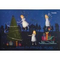 Альбом для рисования Kroyter Рождество А4 40 листов
