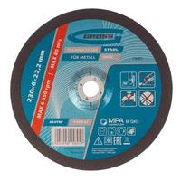Круг шлифовальный по металлу Gross 230х6 мм (74401)