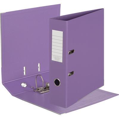 Папка-регистратор Attache Bright colours 80 мм сиреневая