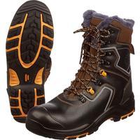 Ботинки с высокими берцами Perfect Protection натуральная кожа черные размер 41
