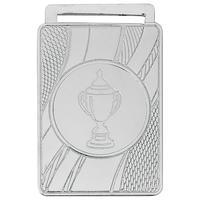 Медаль призовая 2 место Кубок 50x35 мм