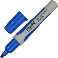 Маркер для бумаги для флипчартов Attache Selection Octavia синий (толщина линии 2-3 мм) круглый наконечник
