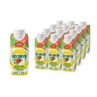 Напиток Сады Придонья Easy Смузи (банан, яблоко, виноград, клубника) со злаками 0.25 л (12 штук в упаковке)
