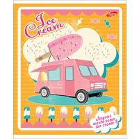 Тетрадь общая Academy Style Ice Cream А5 48 листов в клетку на скрепке (обложка в ассортименте)