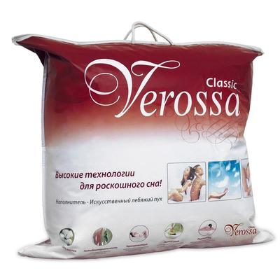 Подушка Verossa 70х70 см искусственный лебяжий пух/хлопок