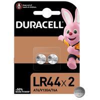 Батарейки Duracell Specialty LR44/A76/V13GA (2 штуки в упаковке)