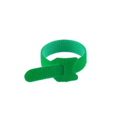 Стяжка Rexant многоразовый 150х12 мм зеленый 12 штук в упаковке