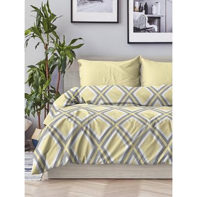 Постельное белье Любимый дом Геометрия (1.5-спальное, 2 наволочки 70х70 см, поплин)