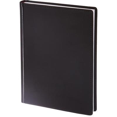Ежедневник недатированный Альт Velvet искусственная кожа Soft Touch A5+ 136 листов черный (146х206 мм)