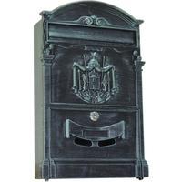 Ящик почтовый LB 1-секционный металлический темно-зеленый (256 x 87 x 405 мм)