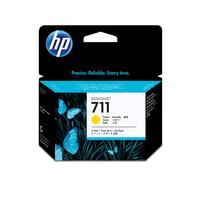 Картридж струйный HP 711 CZ136A желтый оригинальный (тройная упаковка)