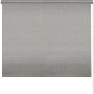 Рулонная штора серая (430x1700 мм)