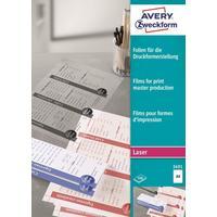 Пленка Avery Zweckform AZ3491 (А4, 100 листов, артикул производителя AZ3491)