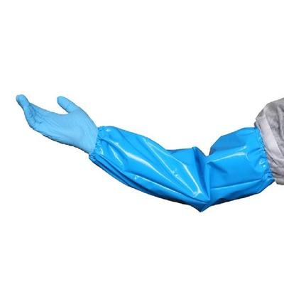 Нарукавник многоразовый защитный Haccper Uretex полиуретановый синий 150  мкм