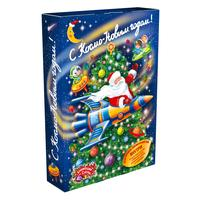 Новогодний сладкий подарок Книга Космос 1000 г (с 4D игрой и купоном)